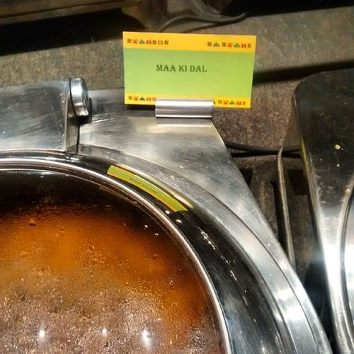 Found this today at dinner. Kebabsville Barbequenation Sayaji Indore Dinner Daal Food Foodie InstaAddict Foodgasm Fail