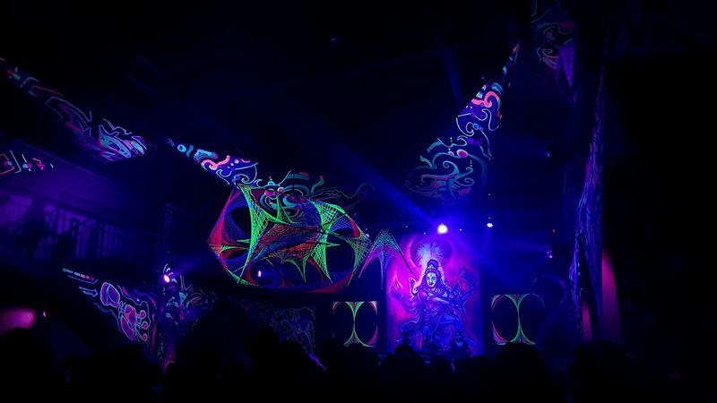 Music Night Illuminated Nightclub Nightlife Dj People Indoors  Trancemusic Trance Party Neelix Dance Decoration Psicadelic