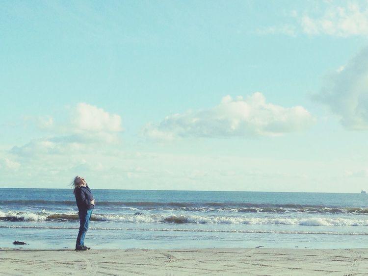 Seascape Sky And Sea AMPt - Shoot Or Die EyeEm Best Shots - Everything Wet
