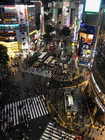 Shibuya Shibuyascapes City Street Crossing Shibuya Crossing City Life