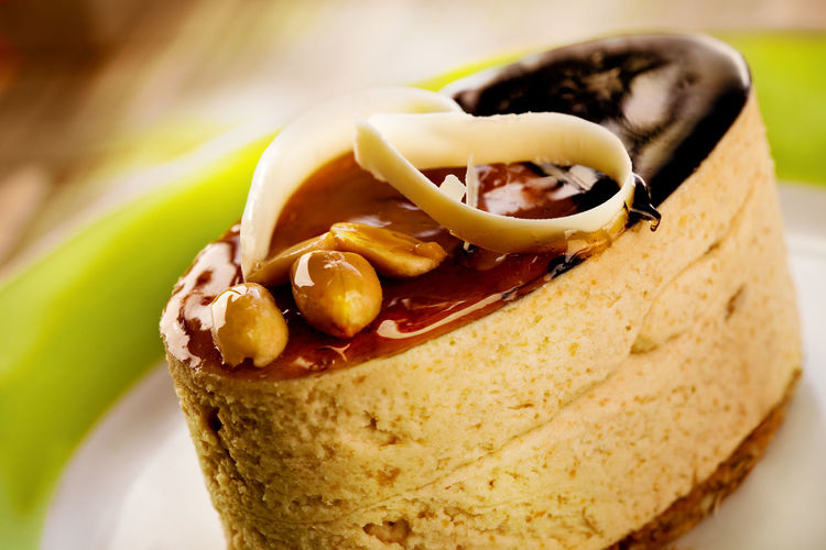peanuts cake Chocolate Peanuts Cake Close-up Day Food Food And Drink Freshness Indoors  No People Ready-to-eat