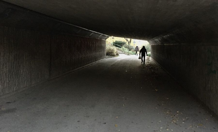 Tunnel Walking Underground