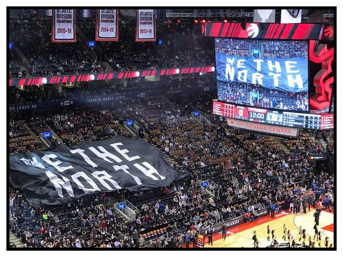 EyeEmNewHere Outdoors Basketball - Sport Basketball Toronto Toronto Raptors We The North Date Night Birthday Air Canada Centre EyeEmNewHere