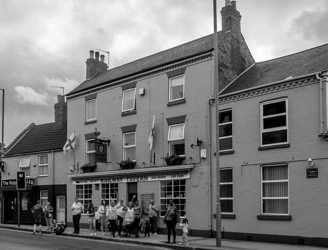 The Railway Tavern, Far Cotton, Northampton Northampton Northampton Pubs Architecture Black And White