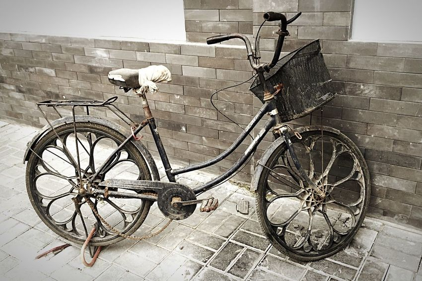 Bike Old School Vintage Art On Wheels Chinese Style Asian Culture