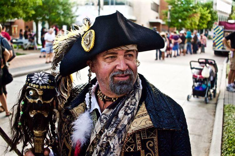 Carnival Crowds And Details Beard Outdoors pirate Celebration