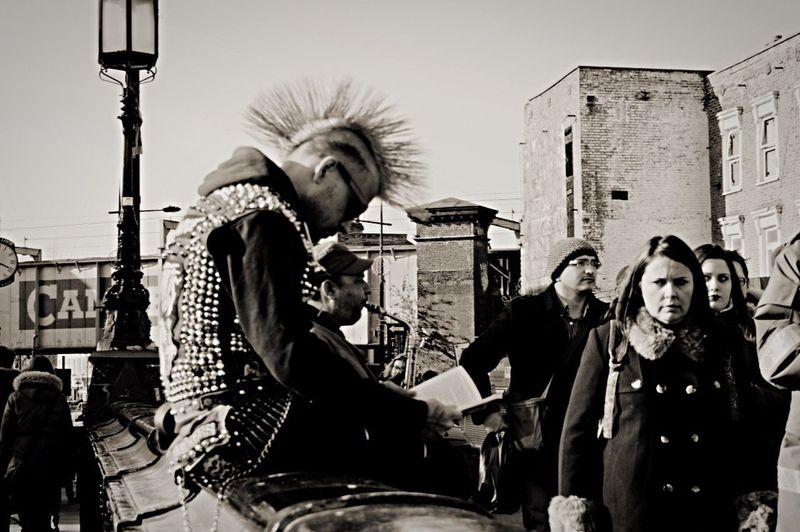 London Camden Town Punk Dirty Looks B&w Street Photography