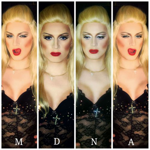 MDNA Madonna Impersonator World www.crystalshow.com.ua