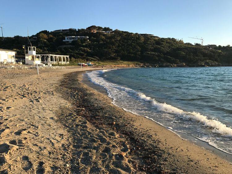 Annittedda Beach Clear Sky Sea Water Outdoors Nature Sardegna Beauty In Nature Tranquil Scene Beauty In Nature Portorotondo