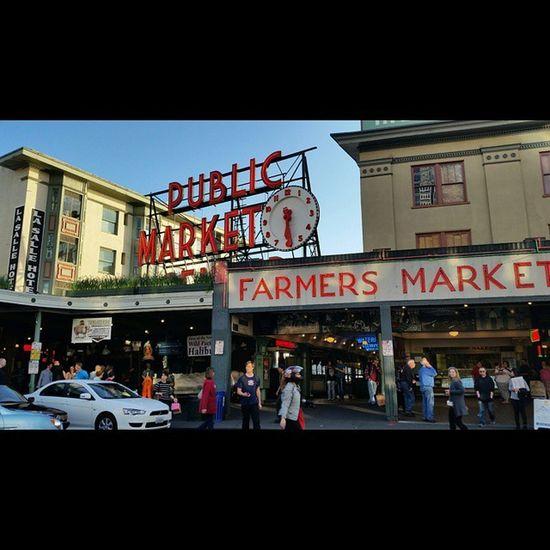 Seattle PikePlaceMarket Publicmarket Farmersmarket Packed Photography