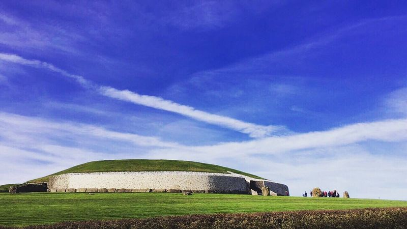 NewGrange Grass Nature Sky Newgrange Ireland Sightseeing Like Irish First Eyeem Photo