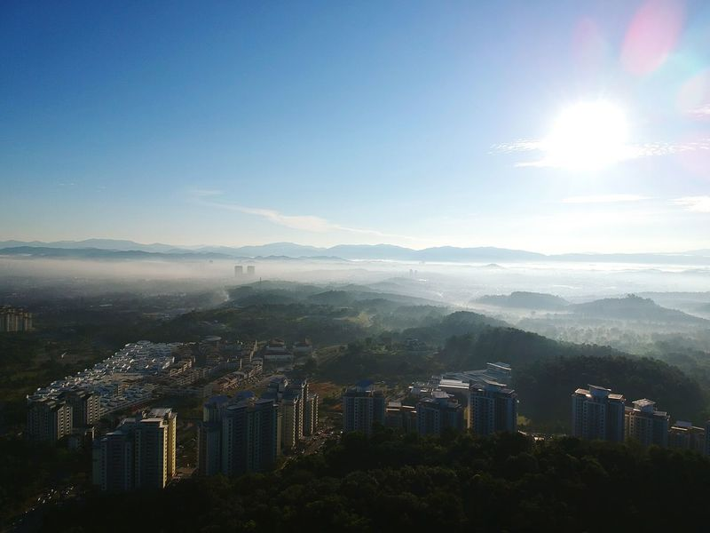 Blanket of clouds Cityscape Cloud - Sky Urban Skyline Aerial View Dji Spark Sunrise Altitude NO FLY ZONE City Quadcopter Firmware Update Spark Dronephotography Lost In The Landscape Remote Controller Remote Control Sunlight Motion
