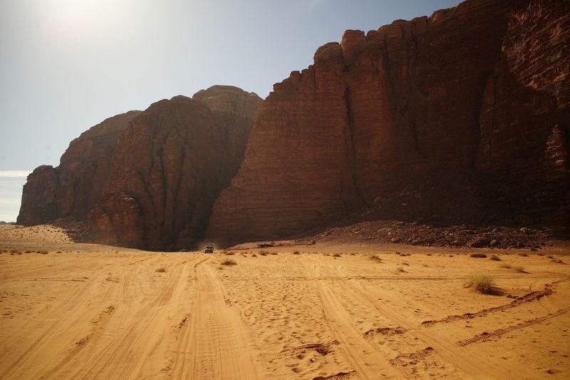 Nature landscape desert