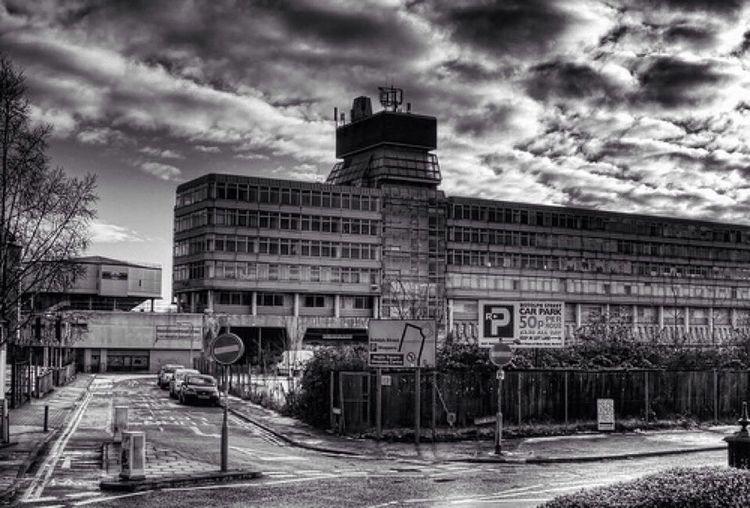 Norwich Anglia Square Black & White