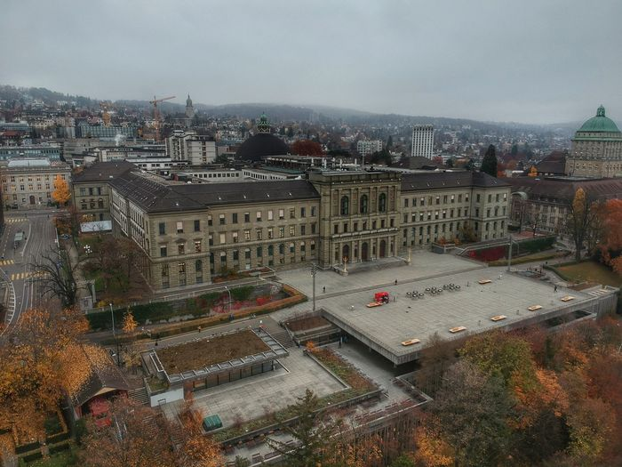 ETH Zurich University - Zurich, Switzerland 2018 Switzerland DJI X Eyeem Dronephotography Dji Spark Building Exterior Architecture City Built Structure Cityscape Sky Building Crowded High Angle View Nature Residential District Cloud - Sky Wet Dusk Skyscraper Day Outdoors Street Office Building Exterior Rain