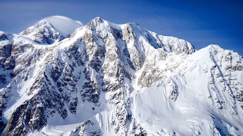 Alaska, USA. By SONY A7R Alaskan Nature USA Alaska Alaska Life Alaskanadventures Beauty In Nature Blue Cold Temperature Day Helecopter Helecopter Photograph Landscape Mountain Mountain Range Nature No People Outdoors Scenics Sky Snow Snow Mountain Snowcapped Mountain Tranquil Scene Winter
