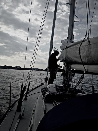 Going Sailing Summer Don't Be Square Nordic Light