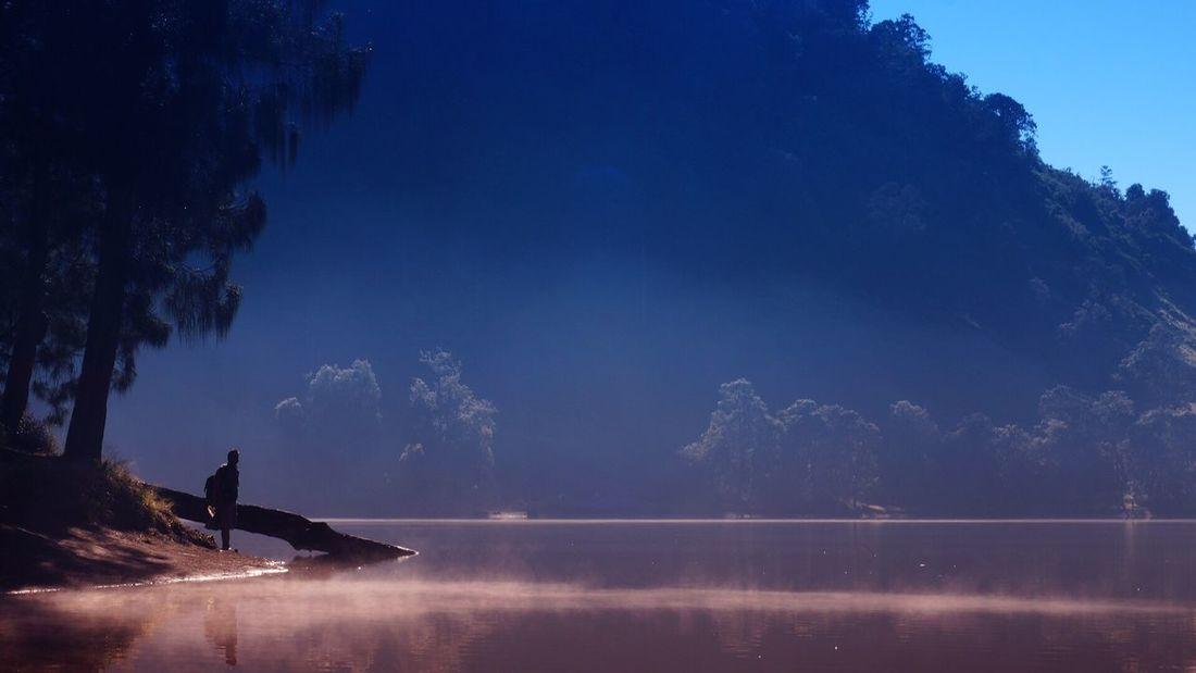 Foggy Foggy Morning Lake Lake View Relaxing Semeru Mountains Ranu Kumbolo INDONESIA Indonesia_photography