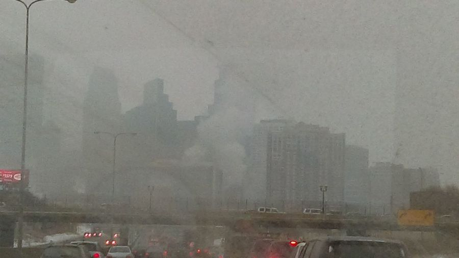 Learn & Shoot: Working To A Brief One Foggy Morning I Need To Go Look This City Today 9:00