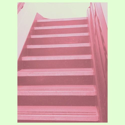 good day, everywhere Pink Instagood Patterns Stairs Warm Lazy Sinking Rending Environment Details Instamood Globaldaily