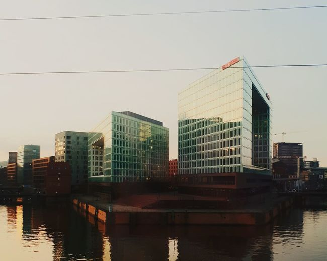 City Skyscraper Downtown District Urban Skyline Cityscape Reflection Office Building Exterior Modern Business Finance And Industry City Life Architecture Building Exterior Water Outdoors Bridge - Man Made Structure Steel No People Sunset Day Sky Hamburg EyeEmNewHere Plastic Environment - LIMEX IMAGINE The Architect - 2018 EyeEm Awards
