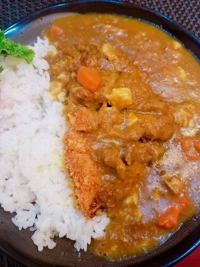 japanese pork curry Japanese Food Japanese  Japanese Curry Pork Vegetable Close-up Food And Drink Curry