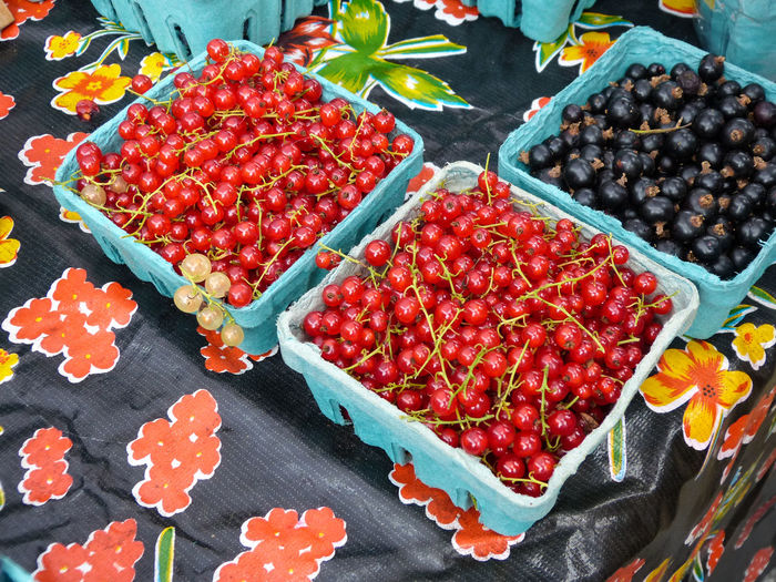 Fruits At Market Stall For Sale