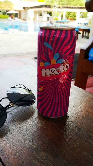 Drink can obsession!! Necto From  SriLanka Colombo Tajsamudrahotel Sunny Traveling Love