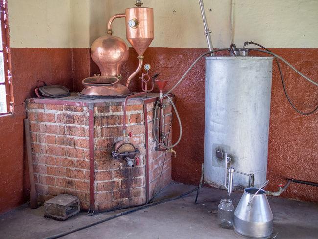 Distillery Distillation Distilling Old Traditional Alcohol Schnaps Spirits