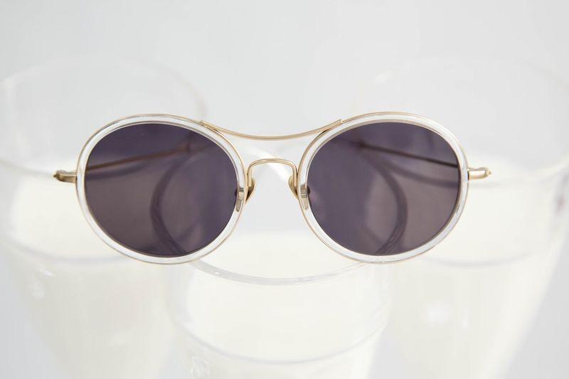 Sunglasses Transparent Glasses Costumized Tomdavies Desinger Protection Sunglasses Milkshake Milk Fashion Close-up Elégance Outdoors Eyesight No People Day