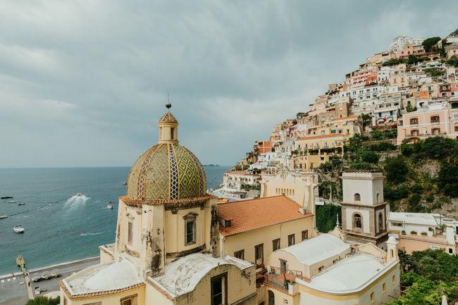 Amalfi Coast Amalfi Italy Italy Positano Chiesa Di Santa Maria Assunta Sea Boats First Eyeem Photo