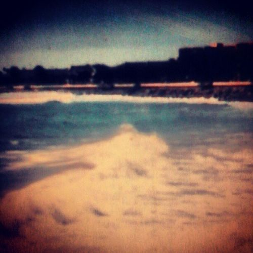 Day 009. Water. Twodayslate Water 2004 VenturaBeach beach ocean california differentlife