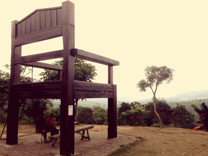 Giant Chair at Mountain Gumitir Mountains Traveling Gumitir Pesonajember Wonderful Indonesia INDONESIA Travel Travel Photography