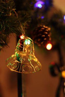 Bell Christmas Lights Light And Shadow Christmas Decorations Christmas Time