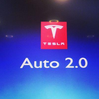 instant lieblings session @teslanewyork Tesla Barcampdus Leafpetrol