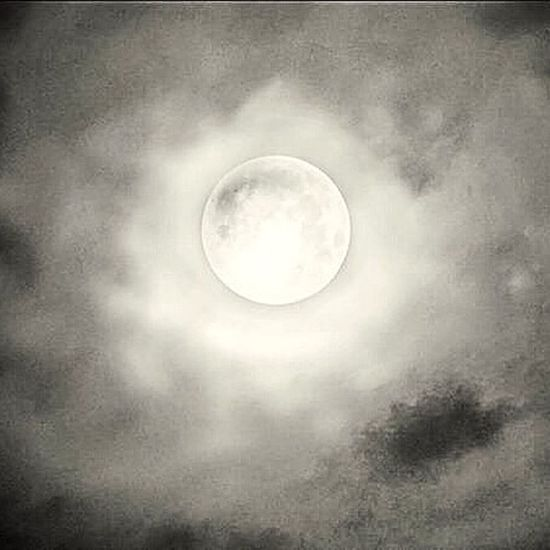 IPhoneography IPhone Photography Moon Light Supermoon 2014