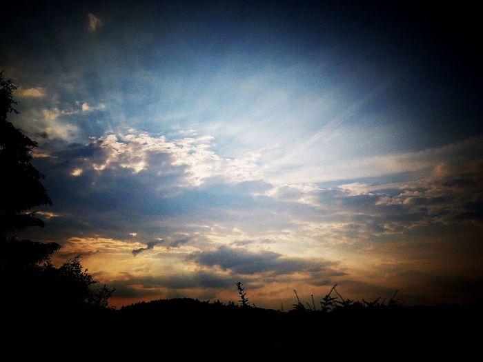 Evening sky ❤️
