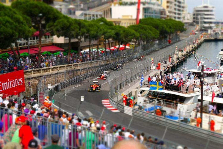 2016 Crowd Harbour Leisure Activity Lifestyles Monaco MonacoGP Racecar Racing Richpeople Spectators Tabac Curve Tilt-shift Yachts Need For Speed MeinAutomoment