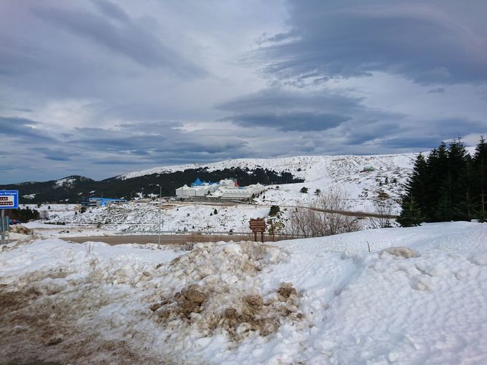 Original Experiences MysianOlympus Uludag Snow Cold Temperature Mountain Winter Sky