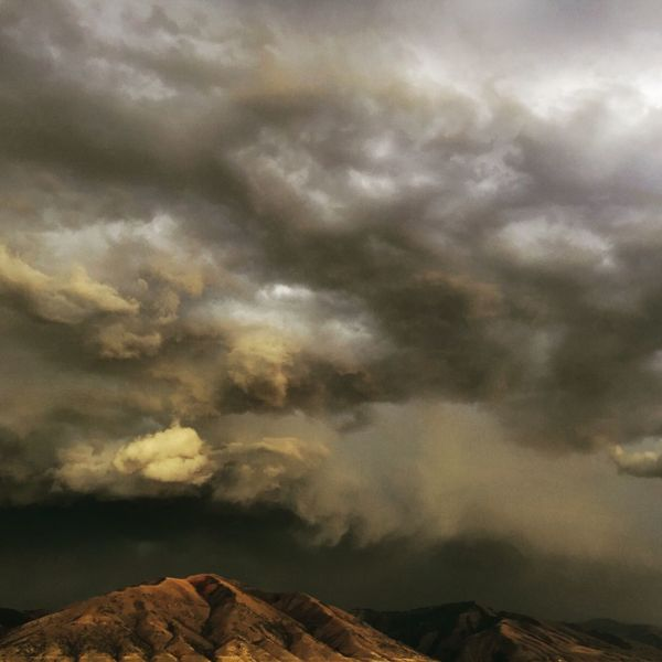 Mountain Mountain Range Beauty In Nature Cloud - Sky Nature Majestic Sky Dramatic Sky Clouds Utah Cache Valley Utah Thunderstorm Thunder Clouds Awesome Nature Dark Clouds Dark Skies