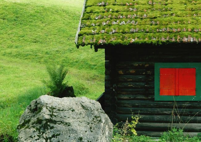 """Hütte in den bayerischen Alpen, """"Hüttenarchitektur"""" The Architect - 2016 EyeEm Awards Bavarian Mountains  Bavaria Alm Huts Red And Green Eye For Detail Fine Art Photography EyeEm Best Edits Fine Art Eye For Color Beauty In Creation  EyeEm Nature Lover EyeEm Best Shots - Nature From My Point Of View Contrasting Colors Miles Away Eye For Photography Eye For Details Peaceful View TakeoverContrast Colors and patternsCheck This Out Home Is Where The Art Is Colour Of Life My Favorite Place Place Of Heart Breathing Space"""