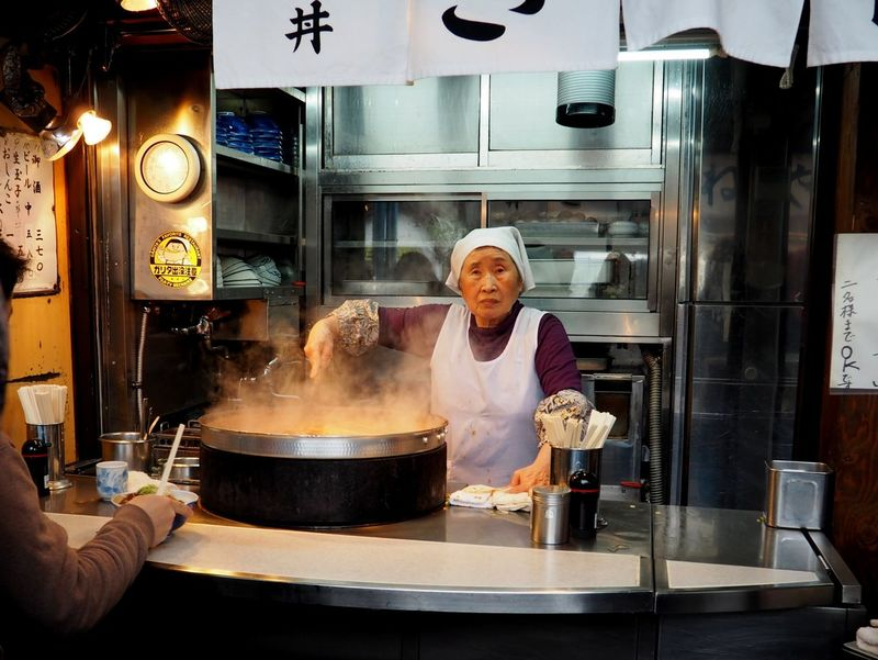 Kitchen Food Adult Restaurant Heat - Temperature People Preparation  Eating Out Eating Japan Scenery Japan Japan Street Shot Japan Streetphotography Business Stories