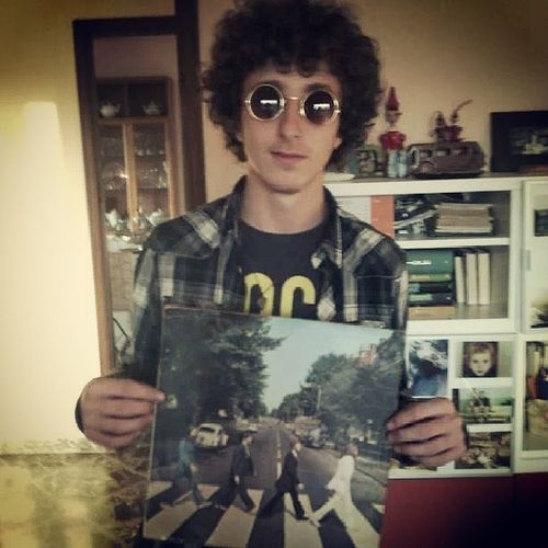 Me Abbeyroad Thebeatles Beatles Music Lennon Glasses Rock Rockon Rockmusic Theend McCartney Harrison Starr
