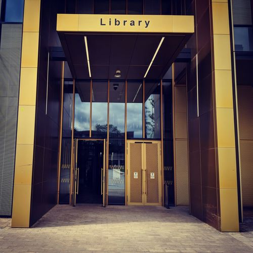 Library University University Campus Library Building Library Building Design New Building  Building City Door Architecture Building Exterior Built Structure Entrance Entry Doorway Open Door Entryway The Mobile Photographer - 2019 EyeEm Awards