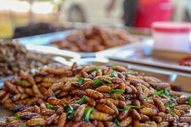 Maggots EyeEm Selects City Market Retail  Market Stall Close-up Food And Drink Street Market Street Food