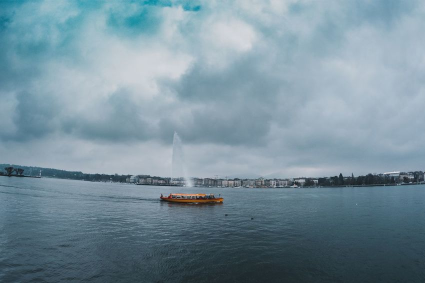 Photographylovers Photography Photo Switzerland❤️ Switzerland Geneva Lake Geneva Water Transportation Sky Cloud - Sky Nautical Vessel Mode Of Transport Outdoors Scenics Sea Nature Waterfront Beauty In Nature Built Structure Day Architecture Building Exterior No People Sailing City