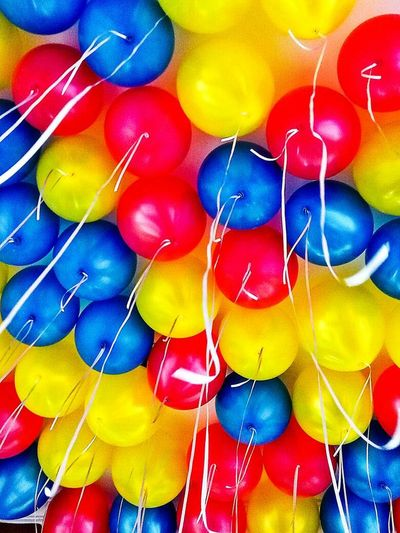 Party Multi Colored Balloon Celebration Helium Balloon Birthday Indoors  Party - Social Event
