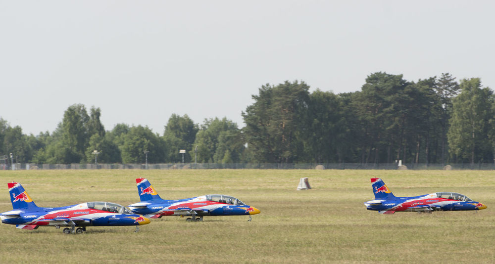 Hamburg, Germany, July 4, 2015: Wings & Wheels open day with Red Bull Air Show, remote control Jets - Uetersen / Holm Airport 2015 Jet Engine Remote Control Aerobatics Aeronautical Engineering Air Show Aircraft Aircraft Wing Airplane Airport Drive Flight Flying Jet Jet Fighter Jets Pilot Red Bull Red Bull Air Show Sky Sun