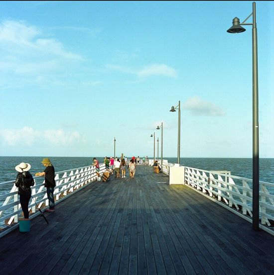 Shorncliffe Film Analogue Photography Film Photography Analog Australia Shorncliffepier Sandgate Filmphotography Analoguephotography Street Horizon Over Water Streetphotography Bronica 6x6