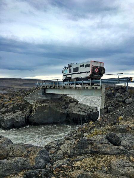 Bridge Over Troubled Water Camper Highlands Iceland Iceland216